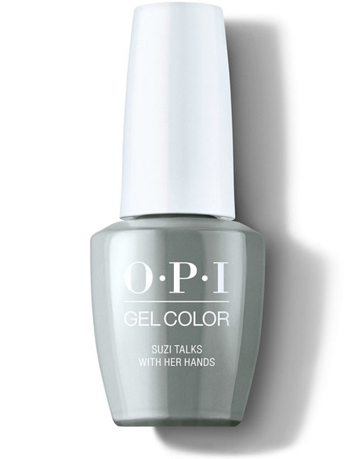 OPI GelColor Suzi Talks With Her Nails