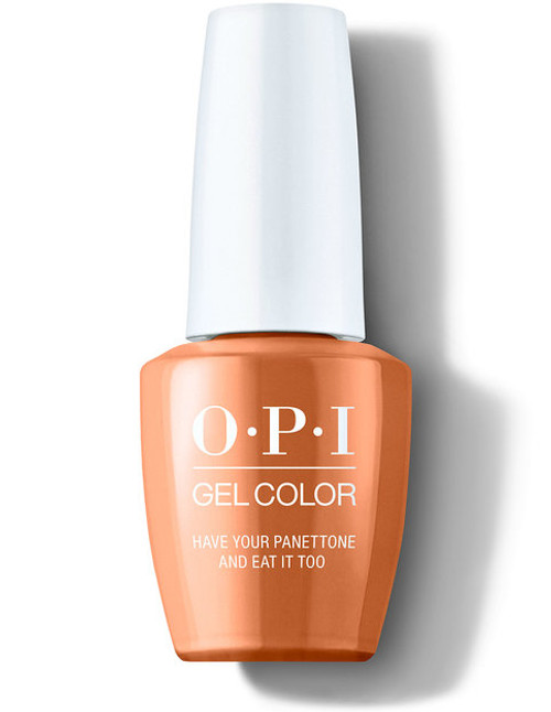 OPI GelColor Have Your Panettone and Eat It Too