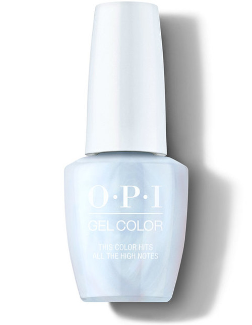 OPI GelColor This Color Hits All The High Notes