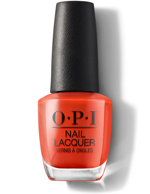 OPI Nail Lacquer A Red-vival City