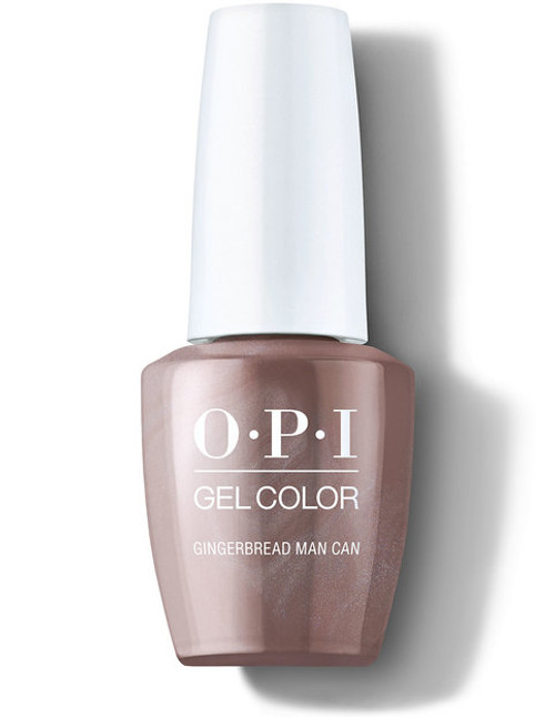 OPI GelColor Gingerbread Man Can
