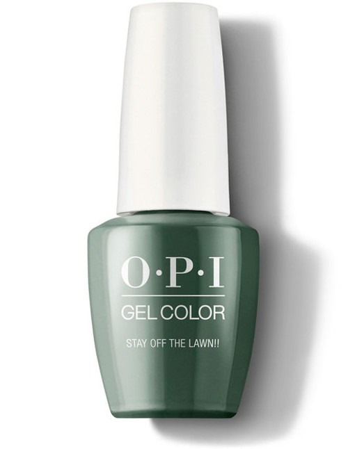 OPI Gelcolor Stay Off the Lawn!!