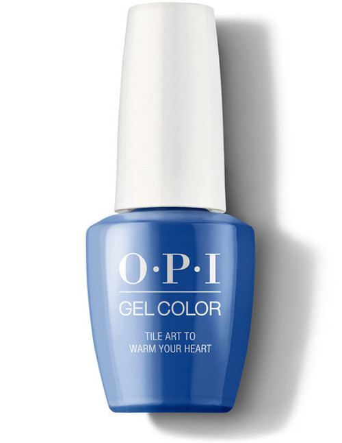 OPI GelColor Tile Art to Warm Your Heart