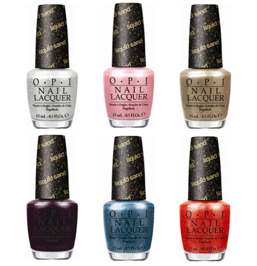 OPI Nail Lacquer Liquid Sand