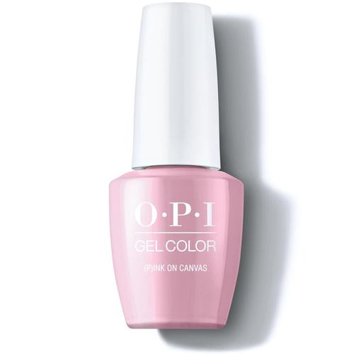 OPI Gelcolor (P)ink on Canvas