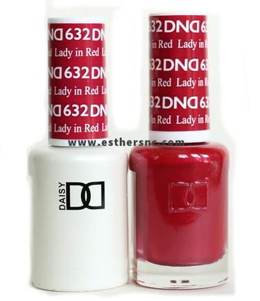 Daisy Gel Polish Lady in Red #632