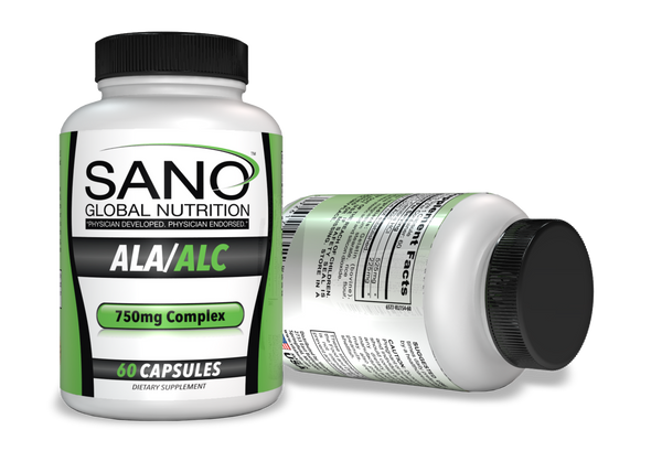 Alpha Lipoic Acid coupled with Acetyl‐L Carnitine serves as a powerful antioxidant combination promoting protection against oxidative stress to cells. Specifically, Our ALA/ALC Complex reduces inflammation in the cardiovascular system as well as the nervous system. Chronic pain sufferers and those suffering from other chronic inflammatory health issues have noted considerable relief. Our ALA/ALC Complex also supports immune function making it the perfect complement to our extensive line up. Dosage: 1 capsule 1 to 2 times daily. Dosage: We recommend 1 capsule 1 to 2 times daily.