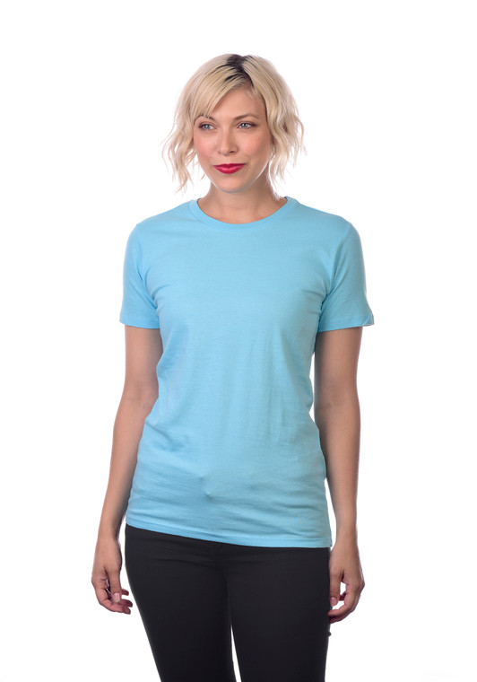 Ultra soft hand, side-seamed, tightly knit, superior printability. 3.7 oz., soft-washed, 100% combed ring-spun cotton, except Athletic Heather (85%/15% cotton/viscose) and all other Heathers (60%/40% cotton/polyester).