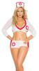 Plus Size Heart Breaker Nurse Lingerie Costume