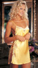 Buttercup Charmeuse Lace Chemise