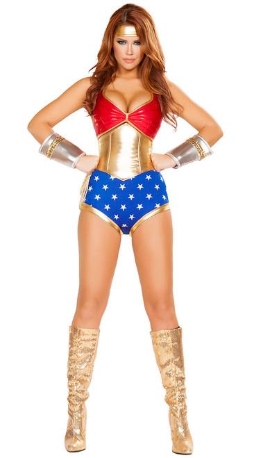 Mighty Comic Hero Costume