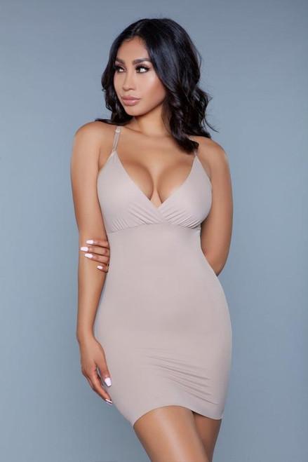 Curved Craze Shapewear Nude Dress