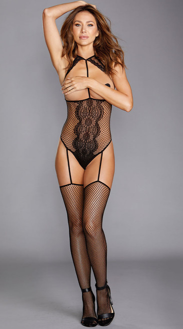 Ultra Sexy Cupless Teddy Bodystocking