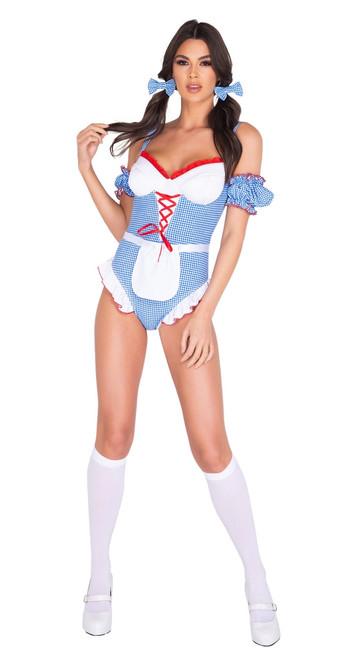 Gingham Kansas Girl Costume