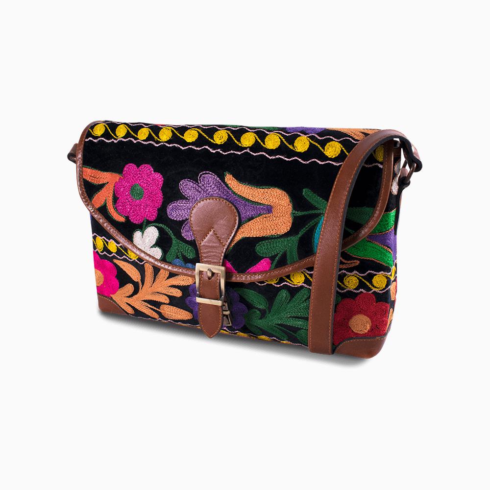 Suzani Messenger Bag