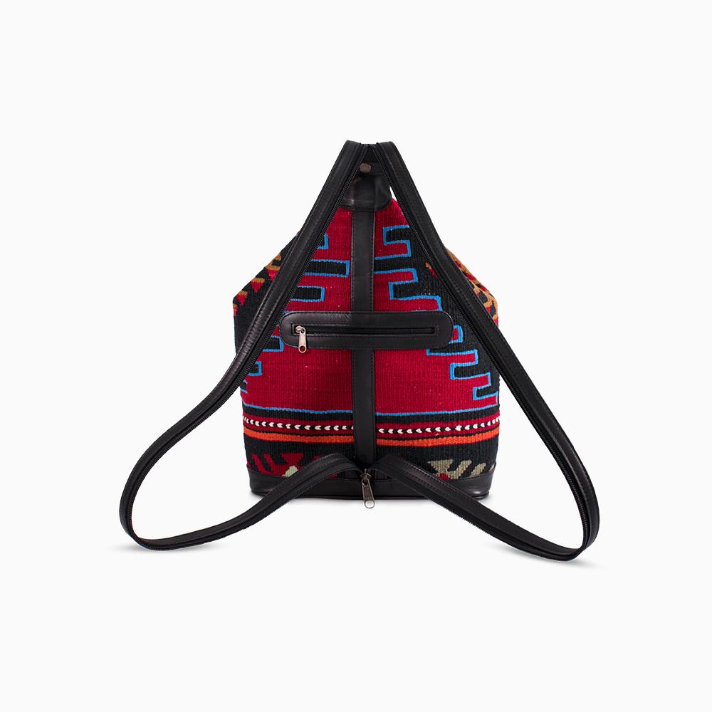 Kilim Convertible Backpack Small
