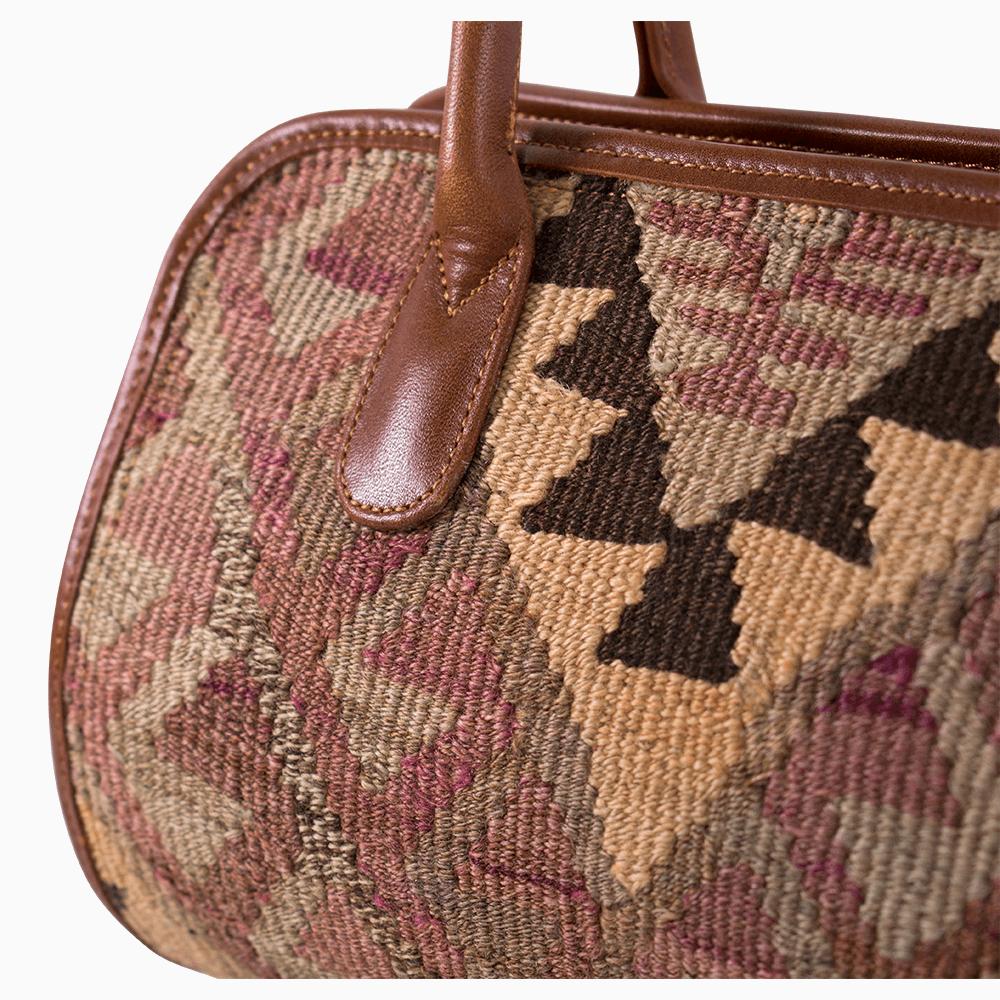 Kilim Barrel Bag