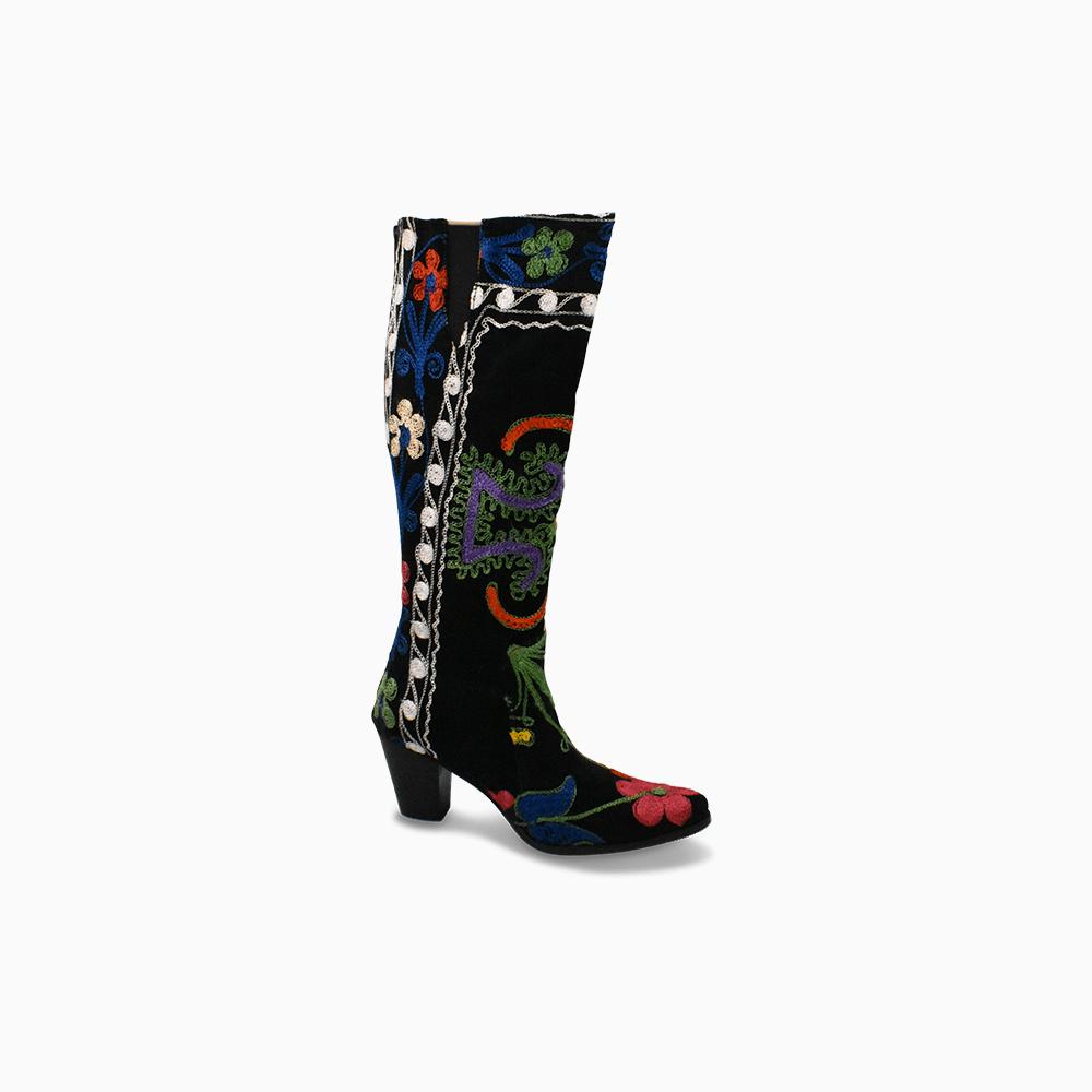 Suzani Camelia Boots Size 37