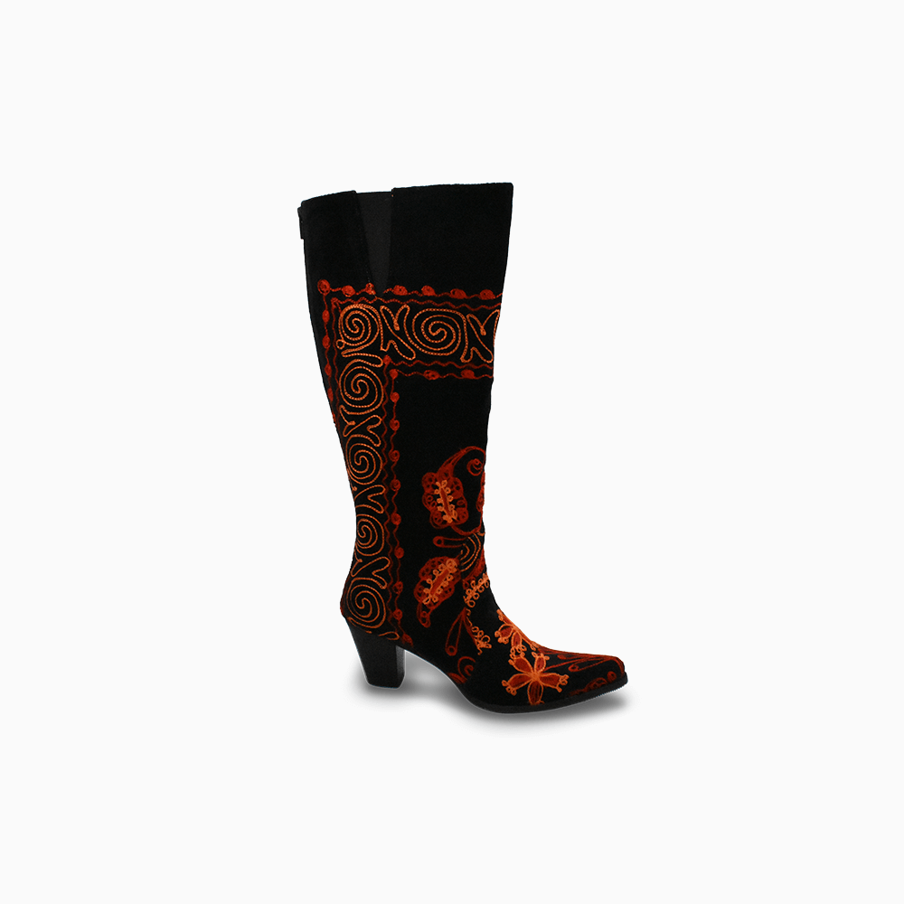 Suzani Camelia Boots Size 39