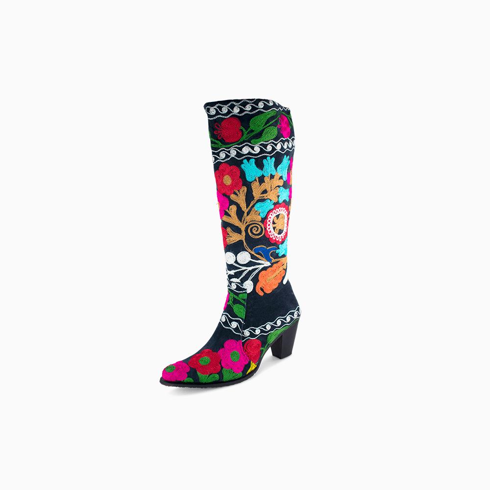 Suzani Camelia Boots Size 42