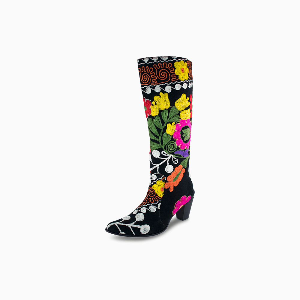 Suzani Camelia Boots Size 43