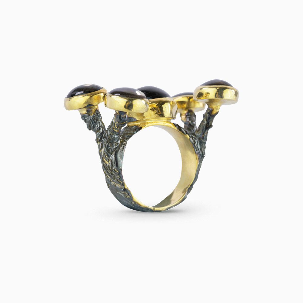 Reach for the Sky Ring - Brown