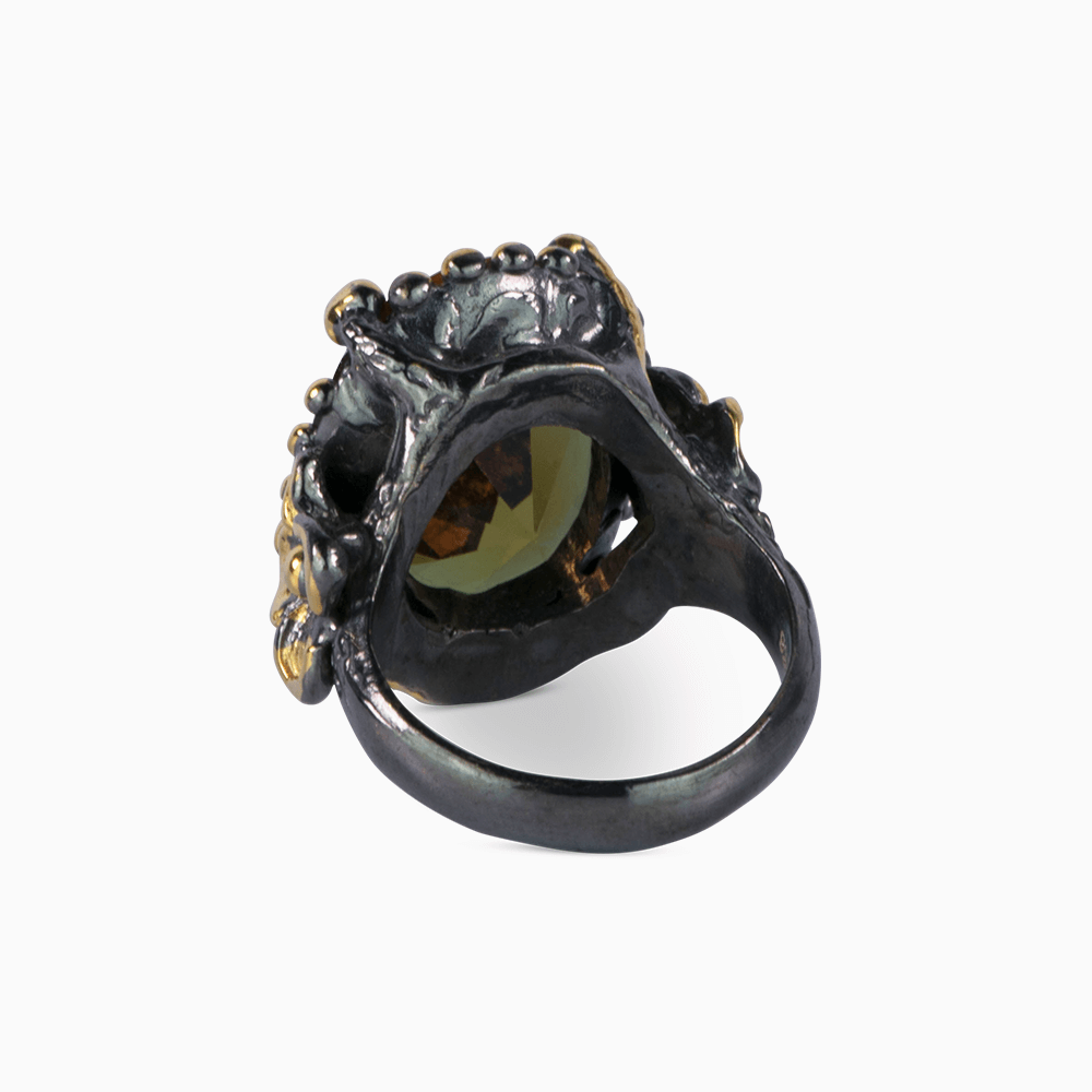 Mysterious Flower Ring