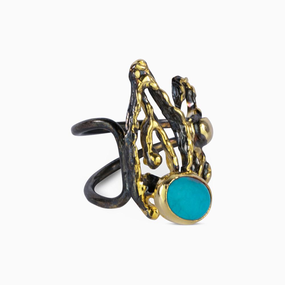 Asymetrical Treasure Ring