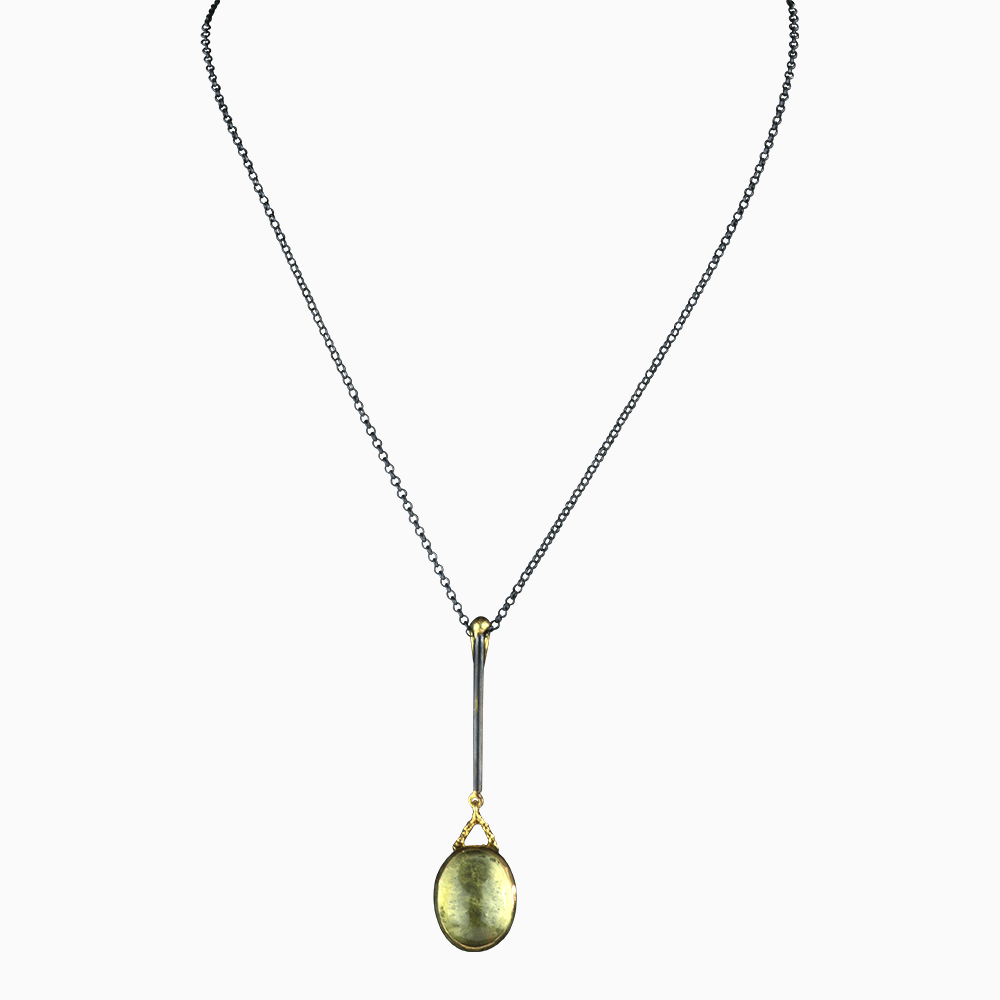 Raindrop Necklace - Golden