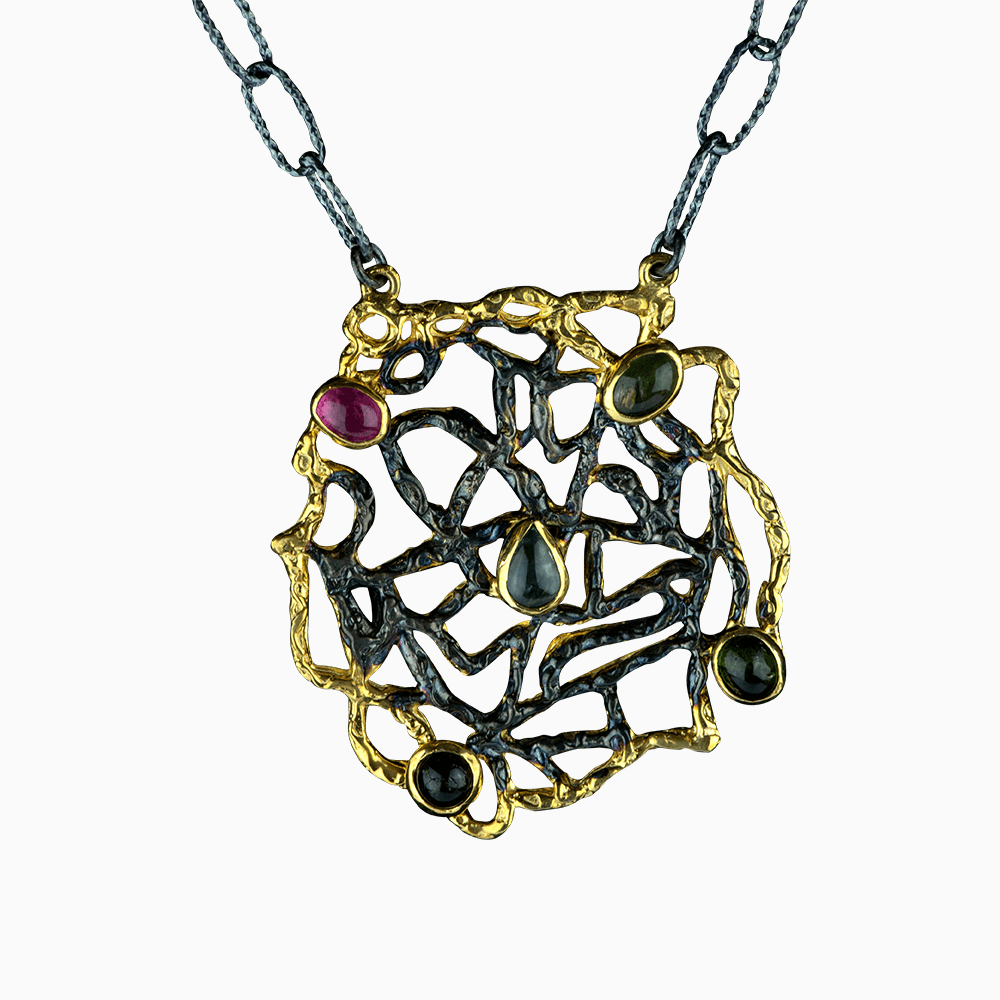 Nautical Tangle Necklace - Mulit