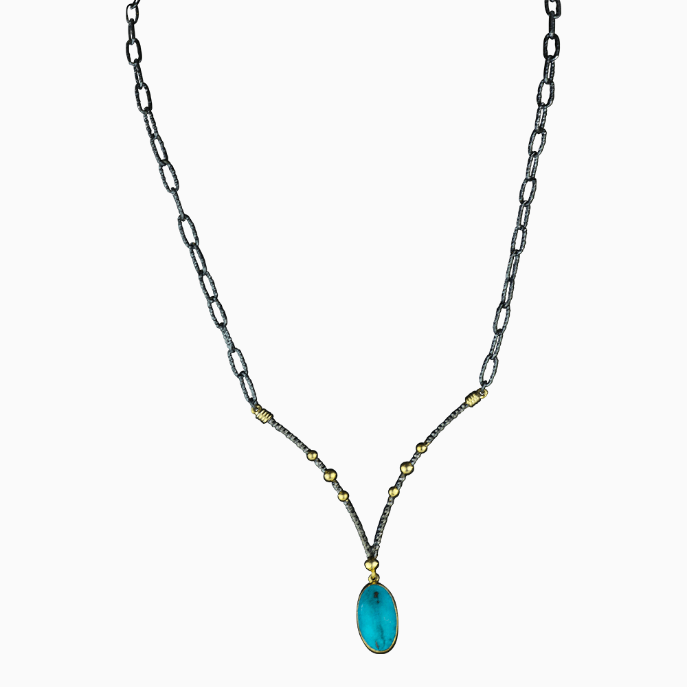 Peakaboo Jewel Necklace
