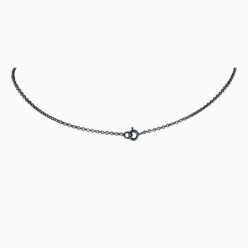 Three Jewels Necklace - White