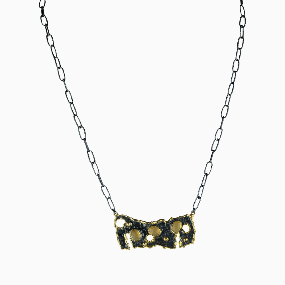 Under the Sea Necklace - Yellow
