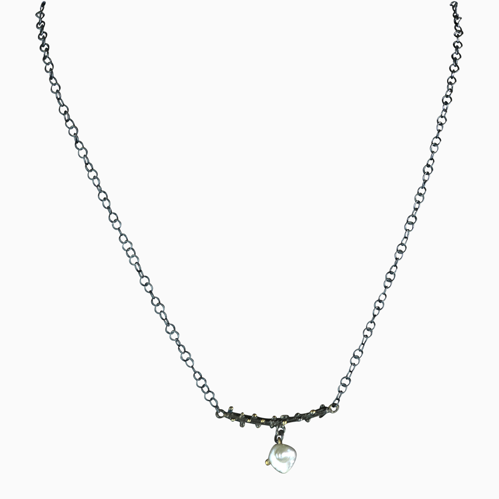Abstract Pearl Necklace