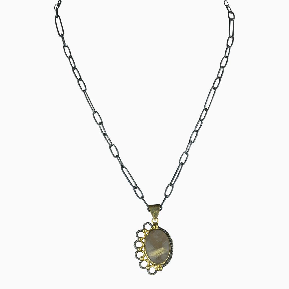 Asymmetrical Beauty Necklace