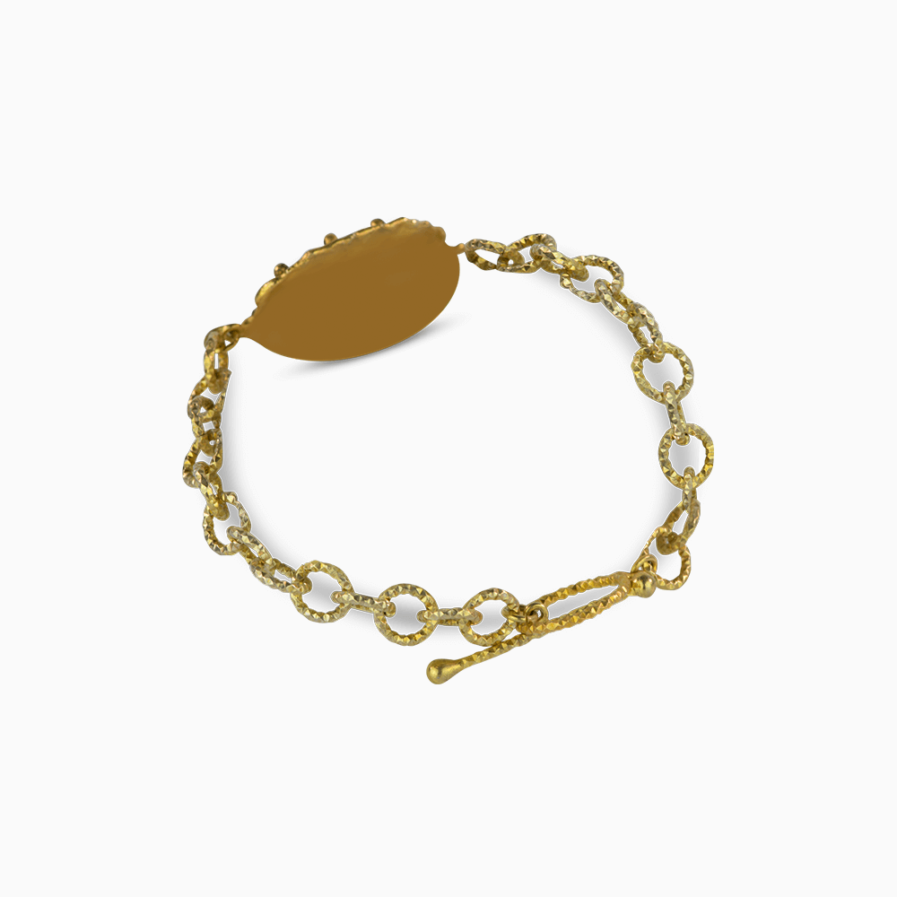 Golden Chains Bracelet