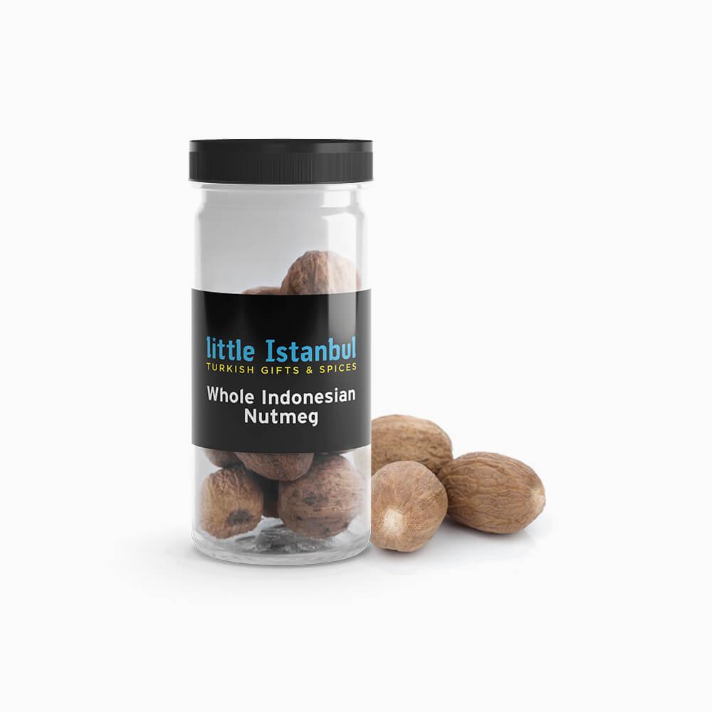 Whole Indonesian Nutmeg