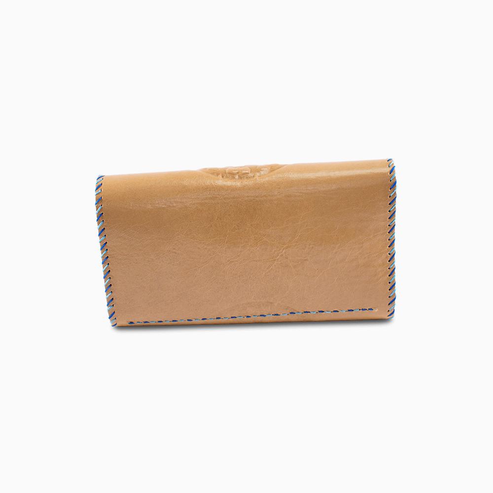 Leather Envelope Wallet - Wheel