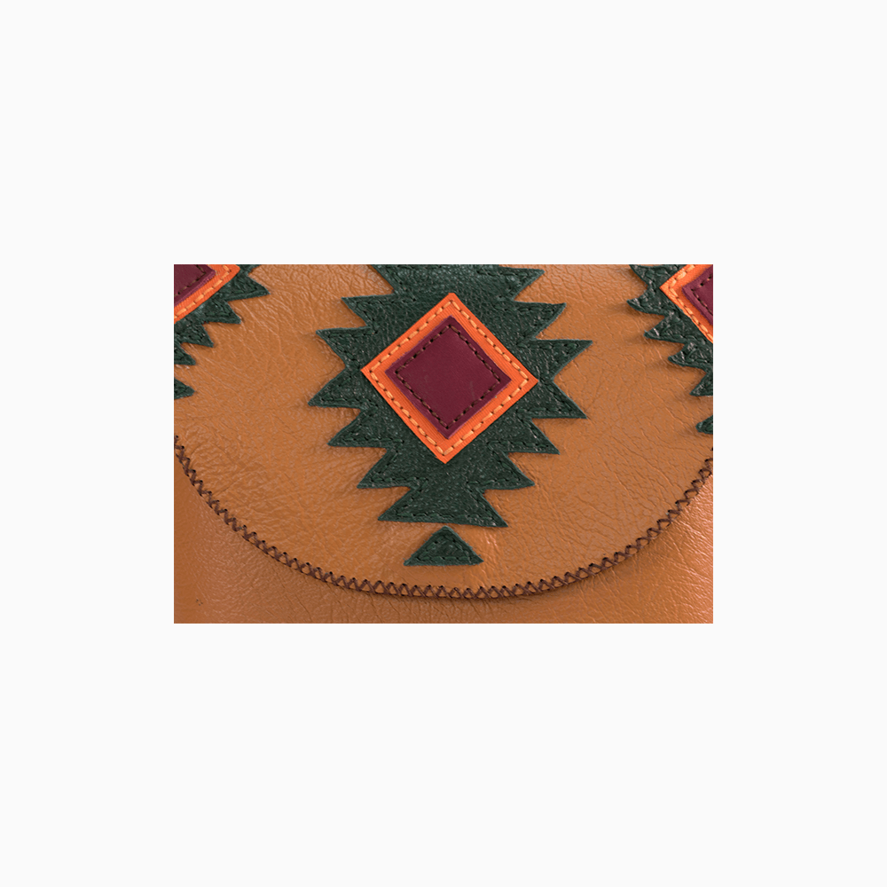 Tribal Accented Satchel