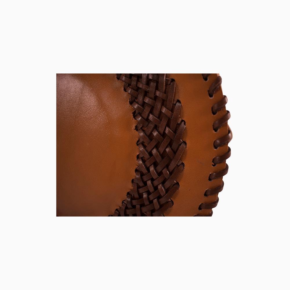 Circle Crossbody Bag - Light Brown