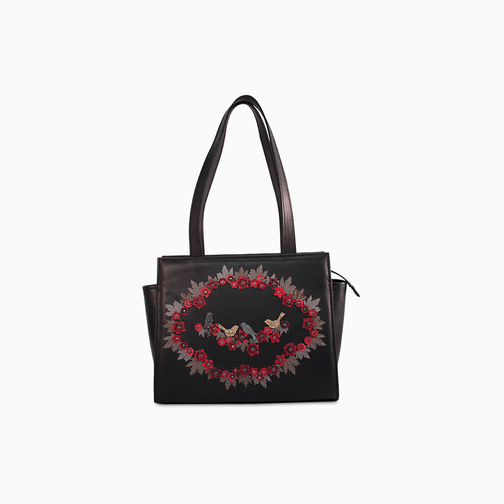 Circle of Flowers Tote