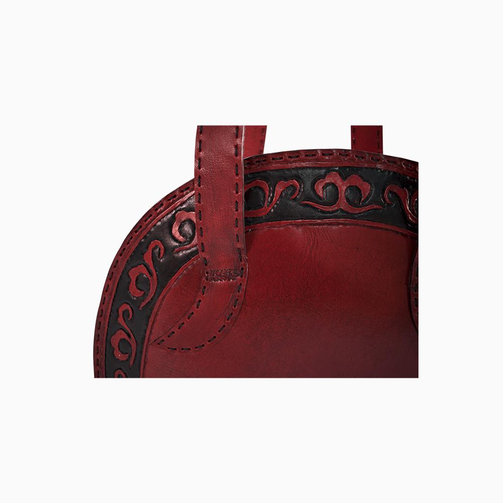 Elegant Red Tote