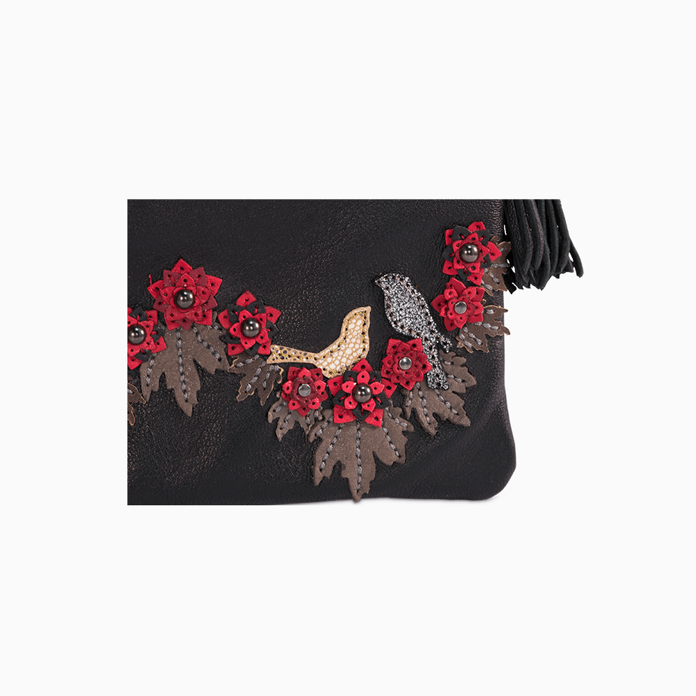 Circle of Flowers Clutch