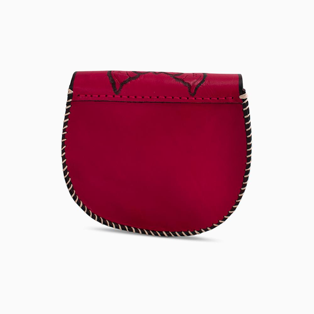 Unique Red Satchel