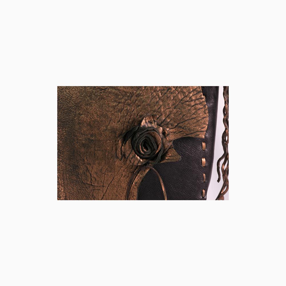 Bronze & Black Messenger