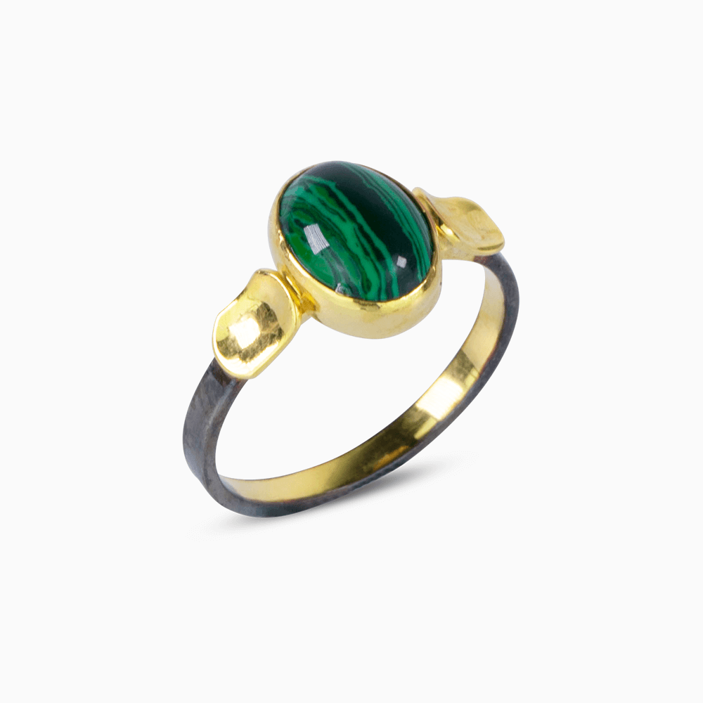 Simplicity Ring 8 - Malachite