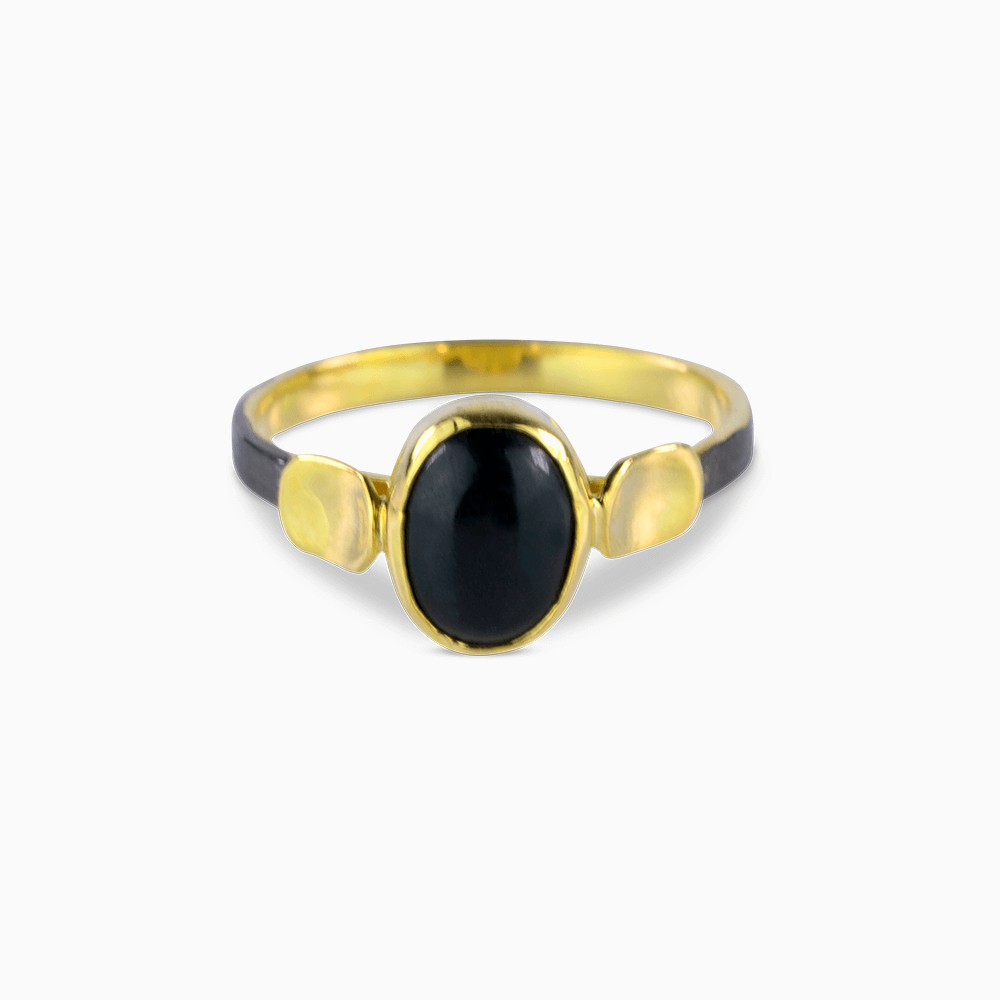 Simplicity Ring 8,5 - Onyx/Oval