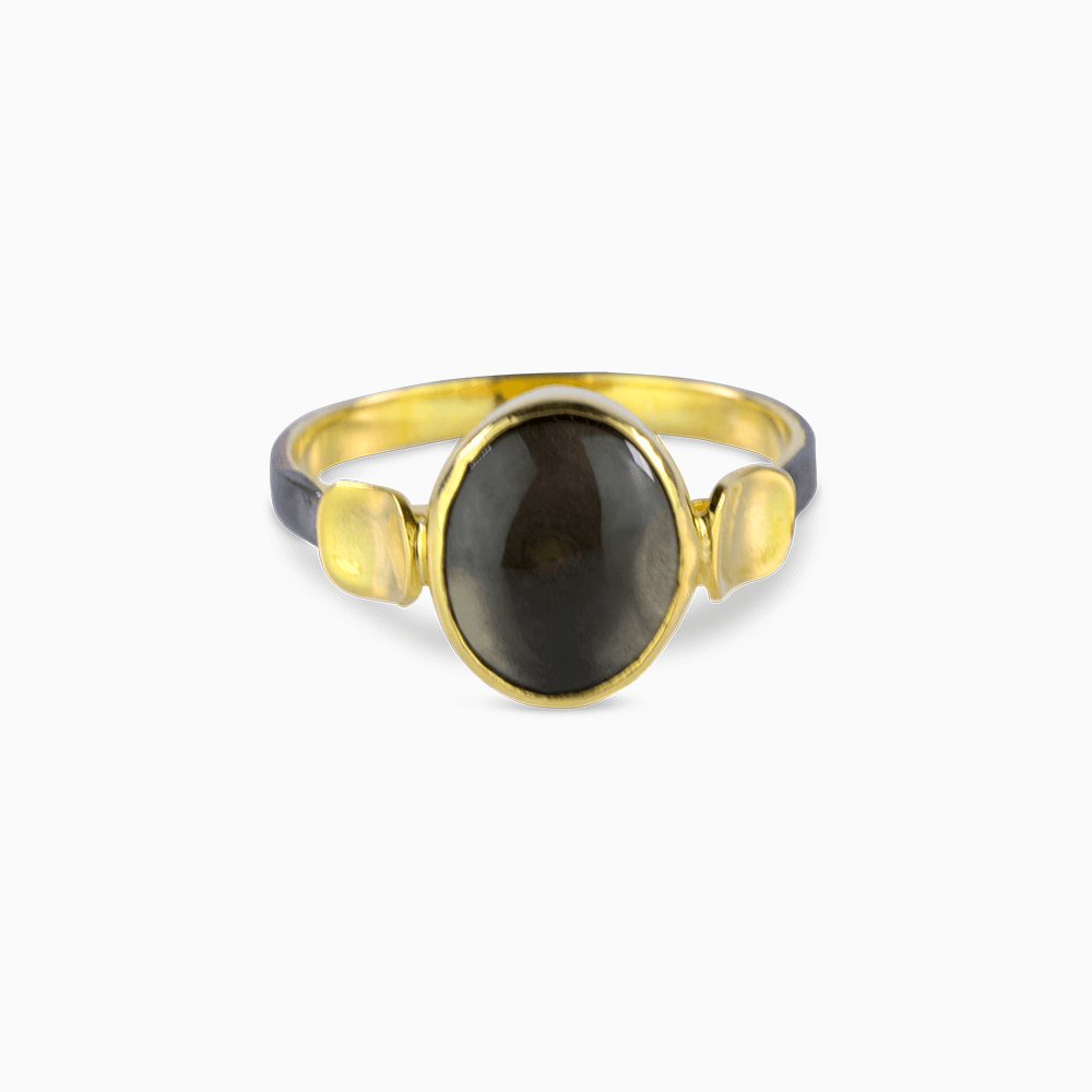 Simplicity Ring 7,75 - Gray Moonstone