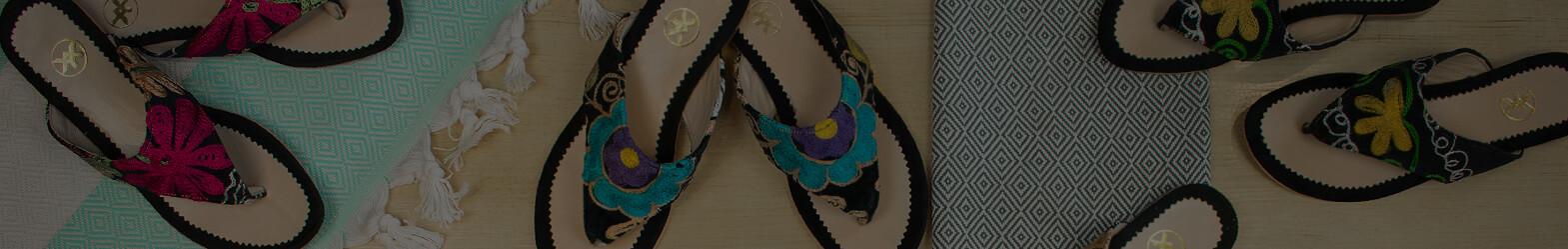 Suzani Sandals