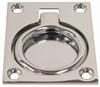Flush Ring Pull Chrome Plated - Large